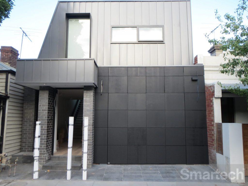Folding Facade Garage Door